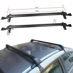Universal Aluminum Car Top Roof Cross Bar Luggage Cargo Carrier Rack Adjustable