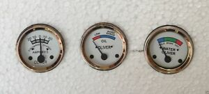 Oliver Tractor Temp oil ampere gauges Set For super 44 55 66 77 88 440 660