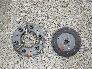 Farmall H Tractor Engine Motor Flywheel Clutch Pressure Plate Assembly Lk Nuw