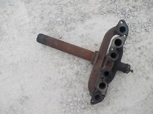 Farmall 300 Tractor Ih Engine Motor Exhaust Manifold W Tight Pipe