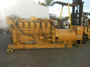 Caterpillar 3512dita 1000kw Diesel Generator Sets 2 Available