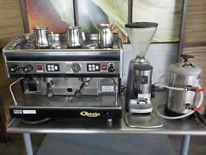 Astoria Sae 2n Dual Group Head Commercial Espresso Machine Package