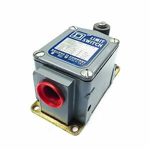 Square D Tsb1 Limit Switch 600vac 15a