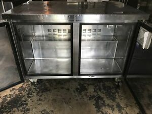 True 67 2 Door Refrigerated Work Top Twt 67