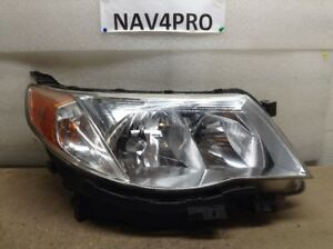 2009 2010 Subaru Forester Oem Right Head Light Lamp a238
