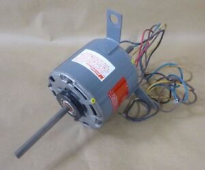 Magnetek 622 Double End Shaft Motor 1 3hp 3 speed Single Phase 1300 Rpm