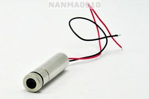 Focusable 30mw 830nm Infrared Ir Dot Laser Diode Module W Driver in 3v 5v
