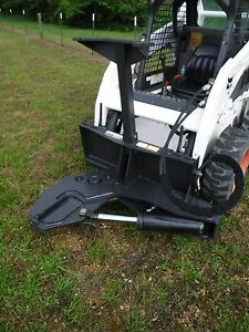 Bobcat Skid Steer Attachment 30 Ton Log Tree Shear Cutter Ship 199