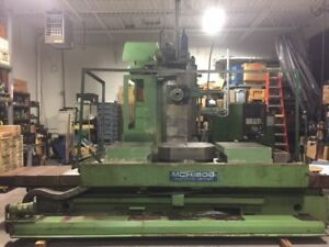 Okk Mch 800 Cnc Horizontal Machining Center With Mitsubishi M2a Control 1988