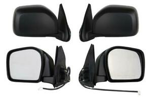 Pair Door Mirrors Fits Toyota Tacoma Pre Runner Rwd 2001 2004 Power Non heat