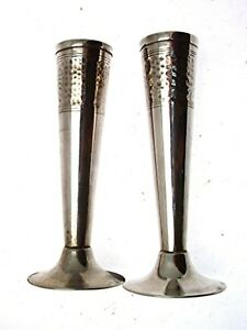 Arts And Crafts Vases Epns 19 Cms Flower Vases Metal Vases
