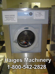 Wascomat Ex630co 30 Lb Commercial Washer