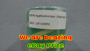 24 X 328ft Application Transfer Tape Clear transparent Vinyl Transfer Tape Roll