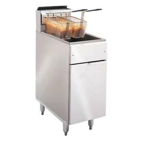 Imperial Ifs 40 40 Lb Commercial Gas Fryer