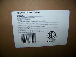 Hoover Commercial Upright Vacuum Cleaner Bagged 15 Ch50102 New