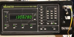 Burleigh Wa 1000 Wavemeter Nir Version
