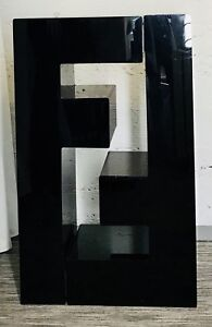 Fendi Store Display Logo Shelves Black Heavy Plastic Nordstrom