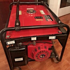 Power Pro 13 Hp Generator Wey power Model 5500 With Cart