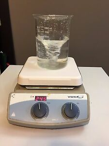 Vwr Vms C 7 Hot Plate Magnetic Stirrer Digital 7 X 7 120v Stirring Heater