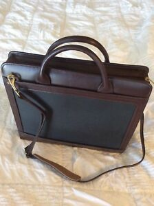 Franklin Covey Burgandy Leather Business Office Planner Case W Spiral Notebook