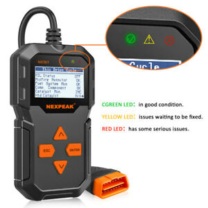 Obdii Scanner Car Check Engine Eobd Fault Code Reader Diagnostic Tool Nx301