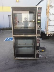 Henny Penny Scr 8 Double Rotisserie Oven Electric Grocery Commercial