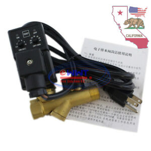 Us Stock Ac 110v Automatic Electronic Timed Air Compressor Drain Valve Zxos003