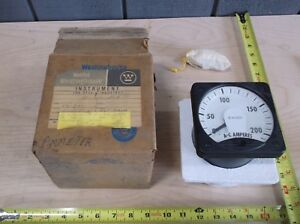 New In Box Westinghouse Panel Meter 0 200 Ac Amps Ka 241
