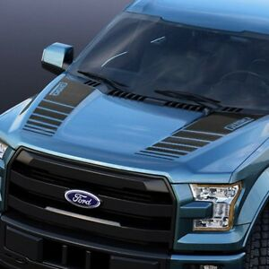 Ford F150 2015 2018 Hood Graphics Package Kit Decal Sticker