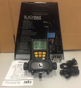 Cps Blackmax 2v Digital Manifold W 60 hoses W valves Temp Clamps Md50he