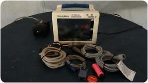 Welch Allyn Propaq Cs 246 Patient Monitor E c g Spo2 Temp Nibp 159613