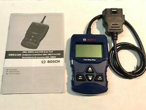 Bosch Obd1100 Obd2 Automotive Scanner Code Reader Live Data Plus