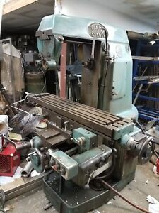 Sajo Swedish Used Universal Milling Machine Power Feed Good Condition