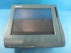 Micros Workstation 4 Lx Pos Touchscreen System Unit No Stand Used