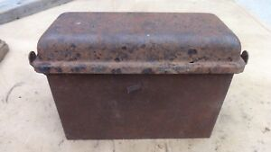 1926 1927 Model T Ford Coil Box W Lid Original