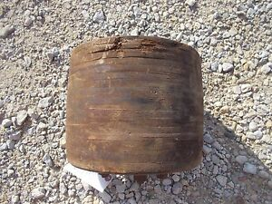 Farmall H Hv 300 350 Sh Tractor Ihc Paper Belt Pulley 9 1 2 X 7 3 4 To Use