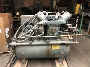 2 Ingersoll Rand Type 30 Compressor Lot Thermal Mass Drier Furnas Starters