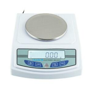 3000g 0 01g Precision Lcd Digital Balance Scale Lab Analytical Technical Test