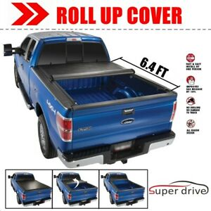 2009 2018 Dodge Ram 1500 6 4 Ft Bed Roll Up Vinyl Lock Soft Tonneau Cover