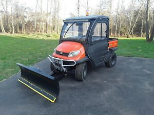 Kubota Rtv 500 4x4 With Snow Plow 470 Hours