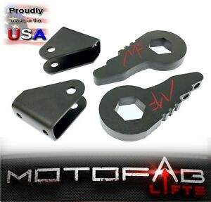 1 3 Front Leveling Lift Kit For Chevy Gmc Sierra Silverado 2500hd 3500hd 2wd
