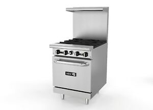 Asber Aer 4 24 4 Burner 24 Gas Range With Oven