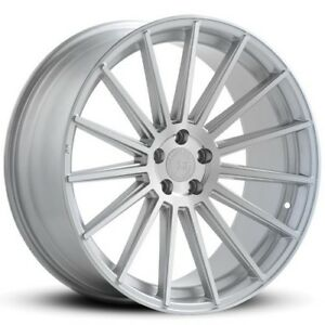 4pcs 20 Staggered Road Force Wheels Rf15 Silver Rims