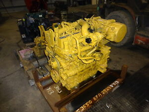 Caterpillar C3 3b Turbo Diesel Engine Nice Skid Steer Loader Cat 3 3