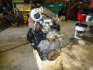 Mitsubishi S4s dt Diesel Engine Rebuilt Reman Caterpillar 3044c Toro Cat