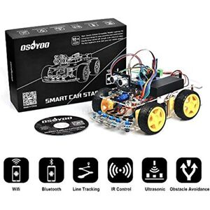 Robot Smart Car For Arduino Diy Learning Kit With Tutorial Android Wifi Ir And