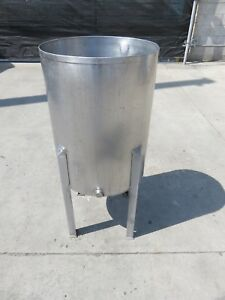 26 Gallon Stainless Steel Open Top Tank