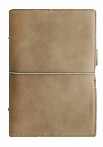 Filofax Domino Soft Leather look Organizer Calendar Agenda Weekly Planner Wit