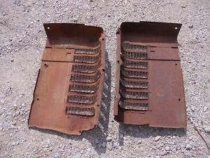 John Deere B Styled Tractor Orignl Jd Front Nose Cone Grill Hood Panel Panels B4