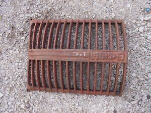 Case Dc Tractor Nice Original Front Nose Cone Grill Hood In Front Of Radiator